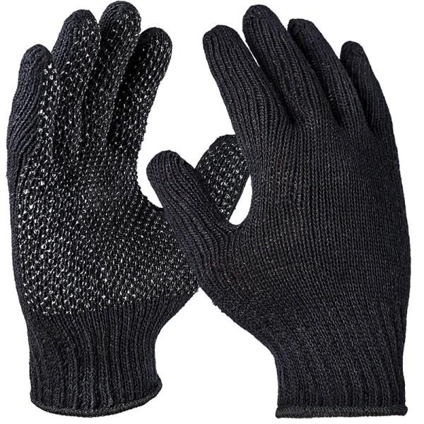 Grobstrickhandschuh, schwarz