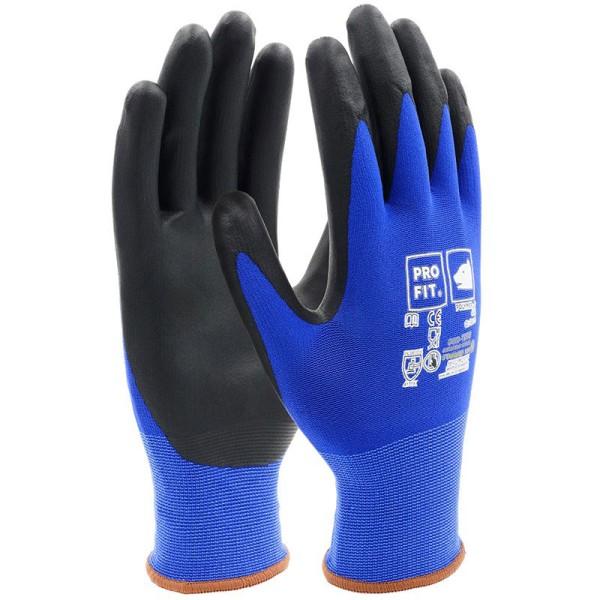 Polymer-P Handschuh 404, blau/schwarz