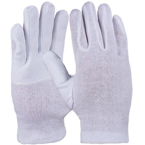 Baumwollhandschuh, weiß, schwere Qualität