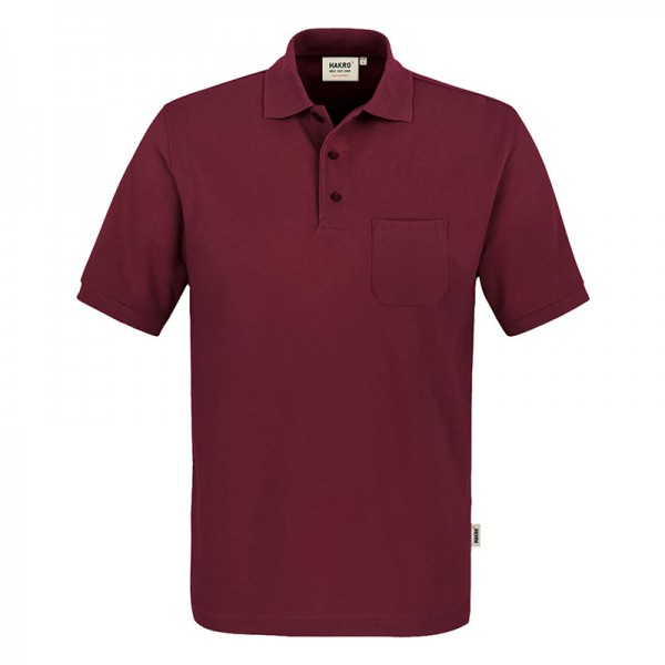 HAKRO Pocket-Poloshirt Mikralinar 812