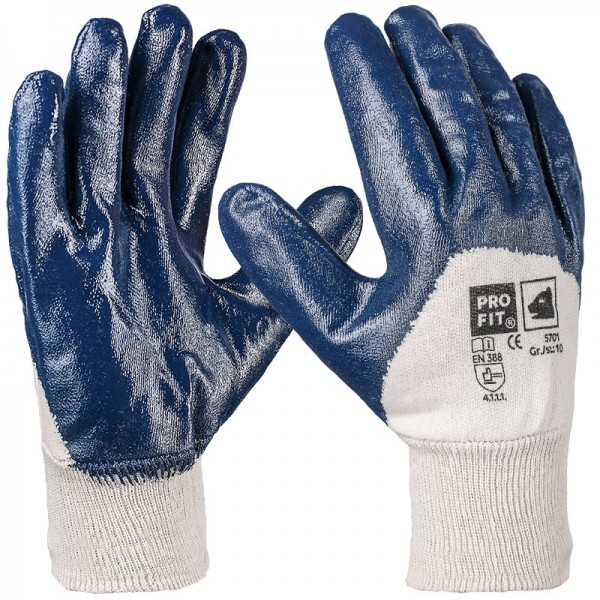 Basic Nitril-Handschuh, blau, 5701
